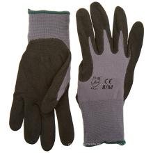Mechaniker arbeiten Sandy-Nitril-Handschuhe mit schwarzer Farbe