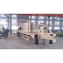 Estructura de acero curvada de la estructura de acero que forma la máquina del edificio