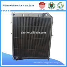 all aluminum auto radiator for sinotruck WG9625531385
