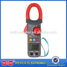 Medidor digital de braçadeira WH821 com teste atual dc / ac