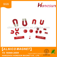 Promotional products U shape Educational permanent Alnico magnets