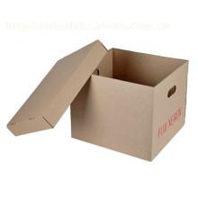Caixa de papelão de alta qualidade Caixa de embalagem Caixa de armazenamento de impressão
