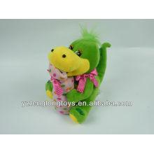 Innovative and cute plush dragon money box