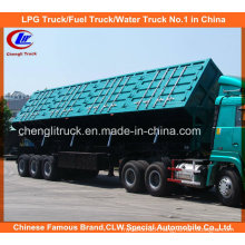 Heavy Duty Tri-Axle 50ton Side Tipper Truck Trailer for Mineral Transportation