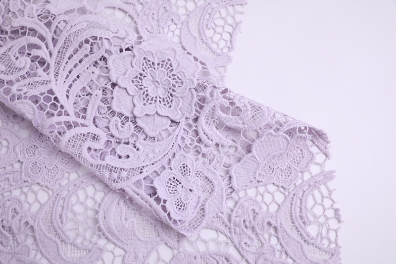 3D Chemical Lace Fabric
