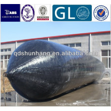 Dia1.2mx10m inflatable rubber air chamber for sale