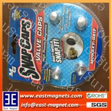 Magnet Snap Caps zum Verkauf / bunte Neodym Magnet Snap Caps für Auto Auto