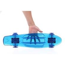 Прозрачный скейтборд Пенни, мини-скейтборд Пенни скейтборда крейсера