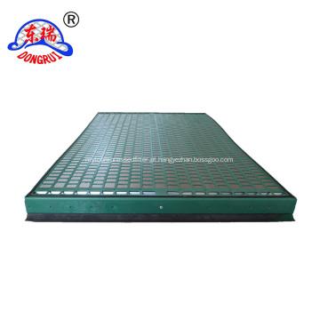 Peneira vibratória de óleo plana FLC500 / com peneira vibratória