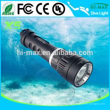 X5 1000lumen Magnetische Unterwasser-Licht wiederaufladbare Fackel Licht Preis