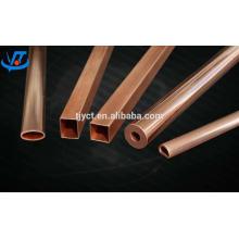 tubo de cobre vermelho puro, 99,9% -99,99% de tubos de cobre preço de fabricação