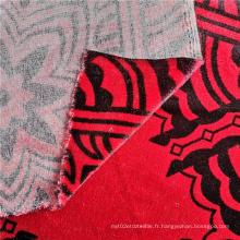 Tissu de rideau 100% polyester imprimé en gros
