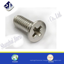 best quality zinc plated steel countersunk head pozi screw