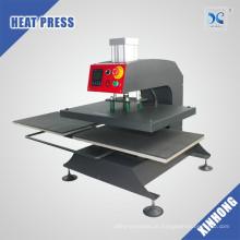 Placa de aquecimento duplo pneumática T Shirt Sublimation Printing Heat Press Machine