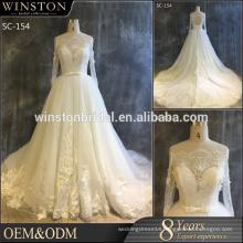 Best Selling expensive luxury ladies fashion 2016 bridal wear wedding dress