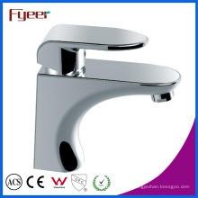 Agua caliente y fría del baño de lavabo golpecito grifo mezclador (q3038)