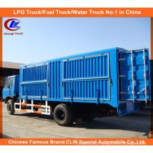 Heavy Duty Dongfeng 6 Wheel Cargo Van Truck