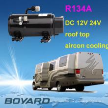 Hot Promo! hybrid solar air conditioner dc kompressor for electric plant diesel domesticas mini aire acondicionado portatil para