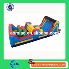 New Inflatable train obstacle,Inflatable obstacle train