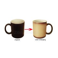 Tasse de couleur à changement de porcelaine (CM-002)