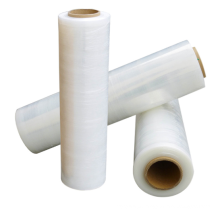 Lldpe Plastic Pallet Stretch Wrap Plastic Wrapping  films roll for Protecting Devices