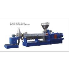 Máquina paralela co-rotativa da extrusora de parafuso WPC