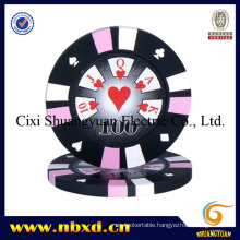 14G 3-Tone Clay Poker Chip with Custom Stickers (SY-E15)