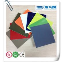 Hoja de fibra de vidrio de color G10 para el mango del cuchillo