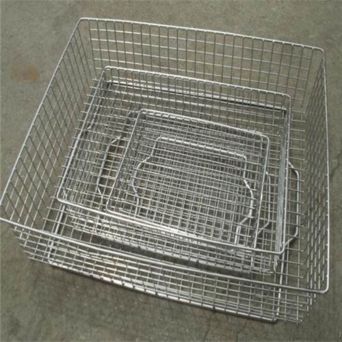 Square Wire Mesh Baskets