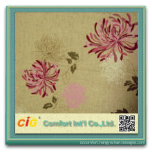 100% Polyester Printed For Bedding Micro Peach Skin Fabric