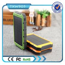 10000mAh 2-Port USB Solar Ladegerät