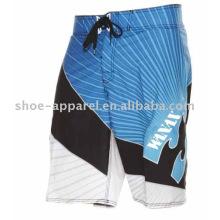Shorts da placa por atacado OEM, calções de surf homens