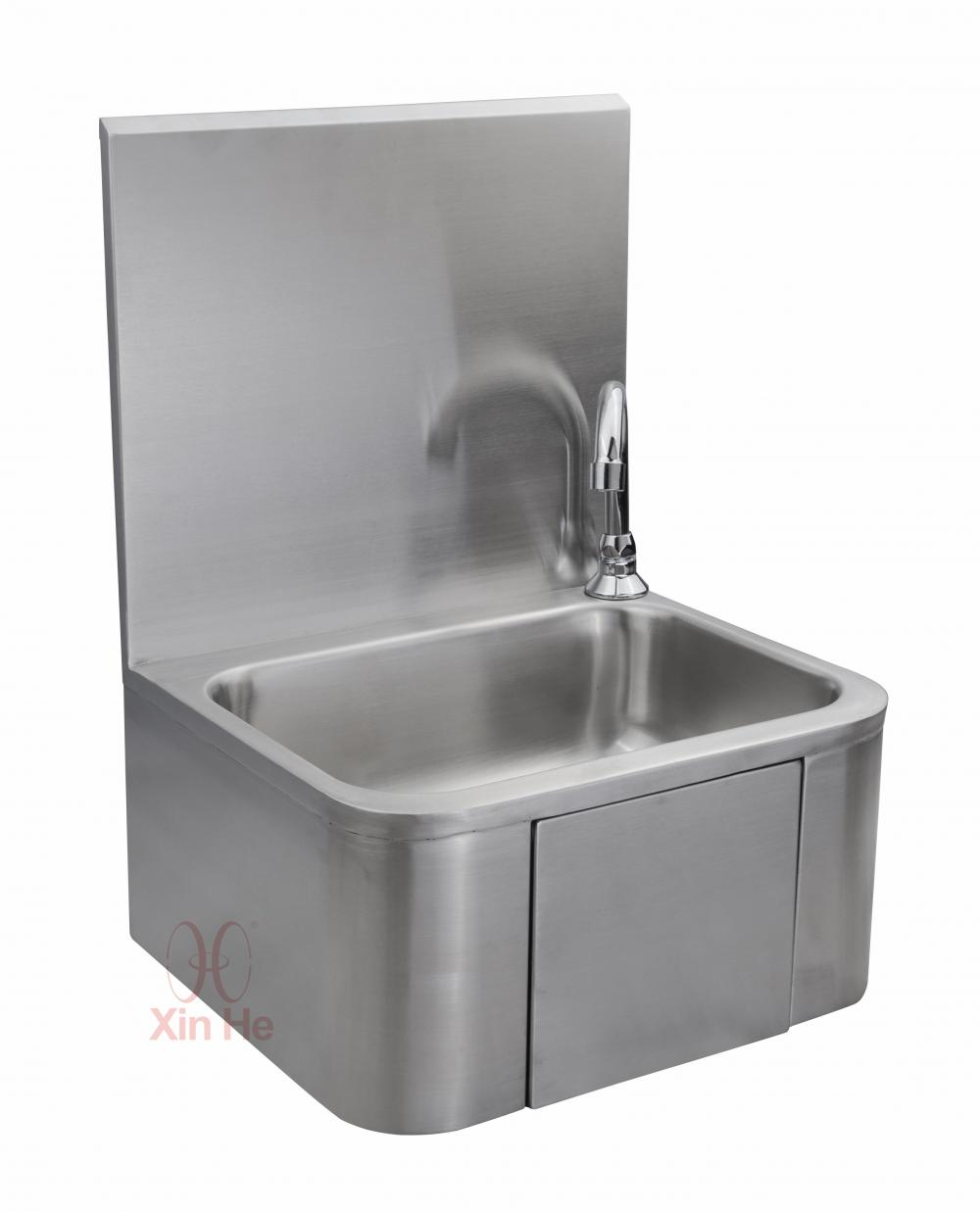 Knee Operated Stainless Steel Sinks