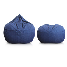 Dark Blue furniture beanbag seat
