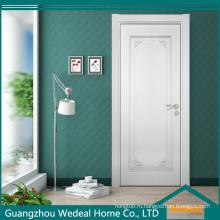 Двойные двери современного отеля в белом цвете (WDHO67)