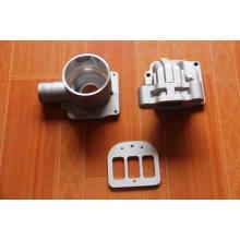 Válvula de fundição de alumínio com usinagem de ferramenta de superfície Gem