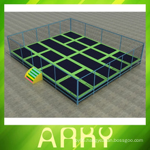 Good Quality Rectangular Trampolines With Nets play equipment