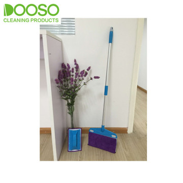 New Double Side Flexi Microfiber Flat Mop