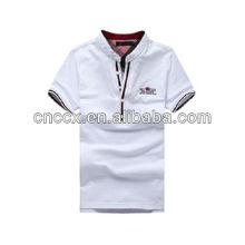 13PT1044 Cotton men short sleeve polo shirt