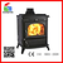 Indoor fogão a lenha de ferro fundido à venda WM704B