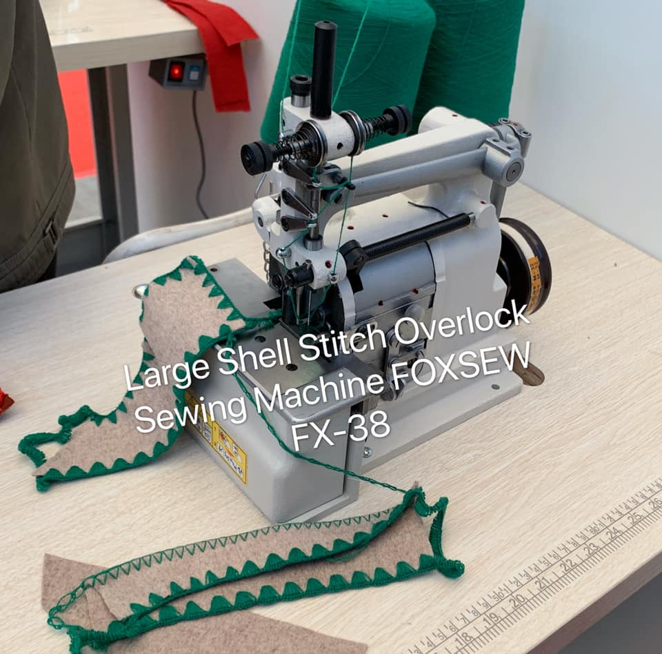 Large Shell Stitch Overlock Sewing Machine 1