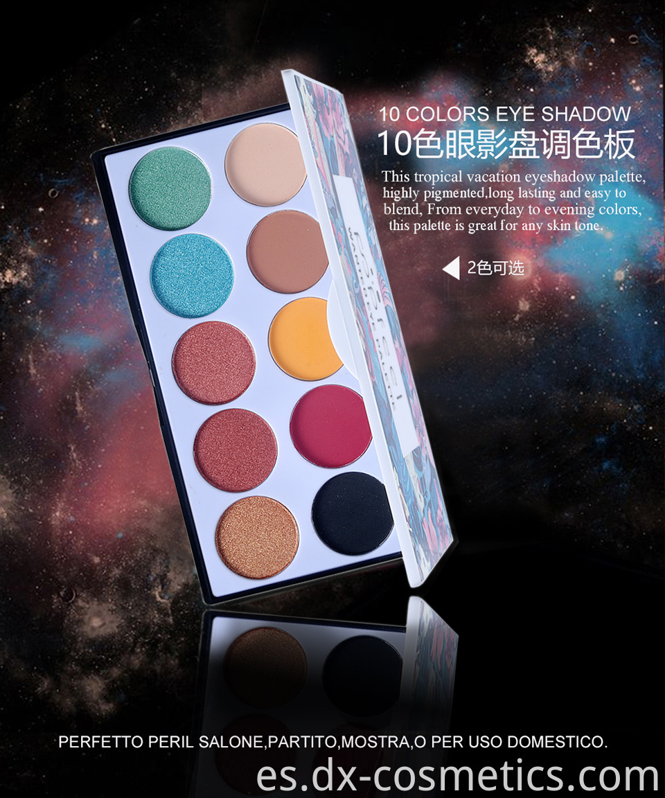 10 Colors Eye Shadow 1