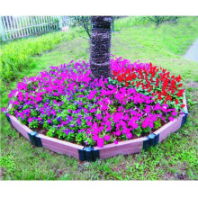 Flower Box Weather Resistant Flower Bed Home Garden Shopping Mall Decoration WPC Flower Pots