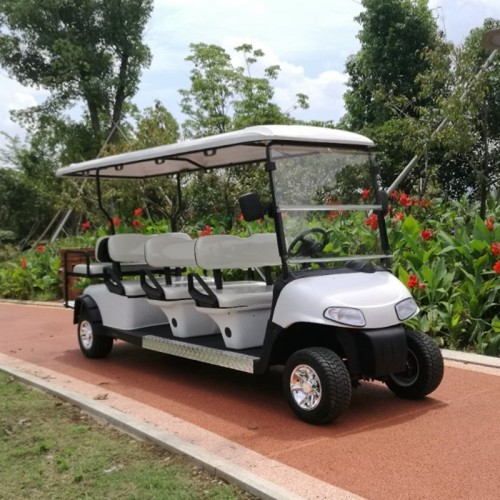 Chariots de golf à essence Ezgo 8 places