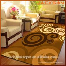 O melhor tapete oriental do assoalho, tapete confortável da decoração da casa do poliéster do Anti-Deslizamento