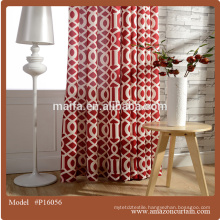 width 280cm 100% polyester curtain designs living rooms