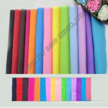 Hohe Qualität Lager 100% Polyester Gedruckt Mikrofaser DOT Stoff Breite 150 cm für Heimtextilien