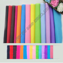 High Quality Stock 100%Polyester Printed Microfiber DOT Fabric Width 150cm for Hometextile