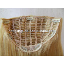 cheap indian remy hair half wig