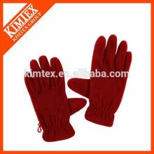 Вышивка логотипа Дешевые флисовой перчатки